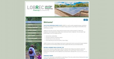 Lake-of-Bays-Renewable-Energy-Co-Op Non Profit Website