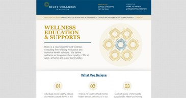 Riley Wellness Consulting Website