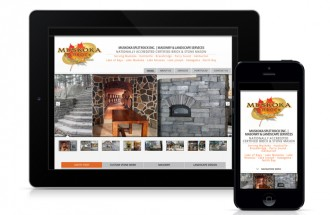 muskoka split rock masonry website redesign